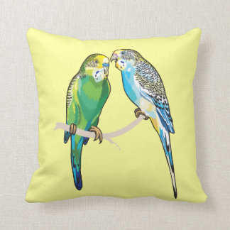Coussin perruches