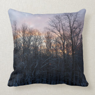 Coussin Photographie en pastel de paysage de nature de