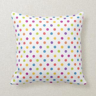 Coussin Pillowl multicolore et à pois