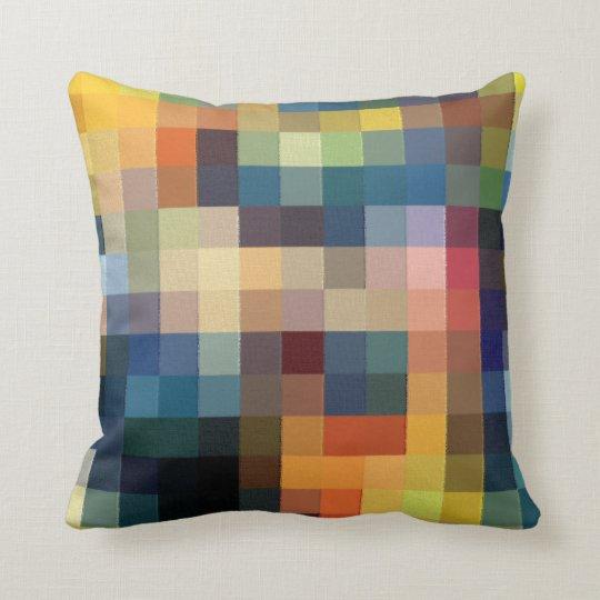 Coussin Pixels patchwork