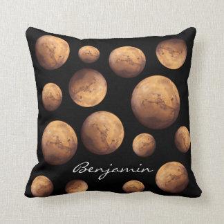 Coussin Planète rouge Mars