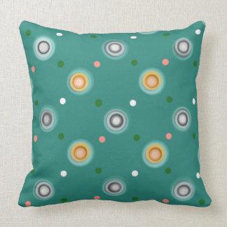 Coussin Point de polka décoratif