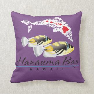 Coussin Poissons d'état de Humuhumunukunukuapua'a Hawaï