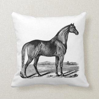Coussin Position vintage de cheval