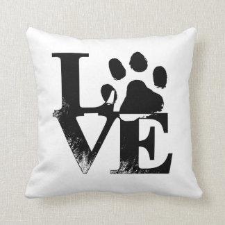 Coussin Pour l'amour des chiens