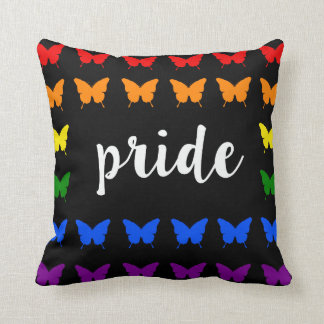 Coussin Pride with butterfly's