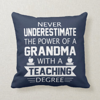 Coussin Professeur de grand-maman