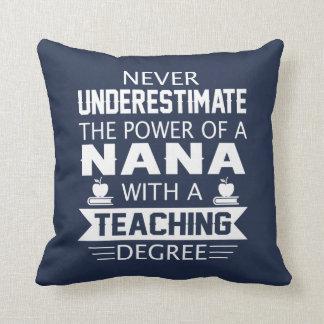 Coussin Professeur de Nana