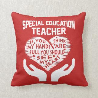 Coussin Professeur d'éducation spéciale