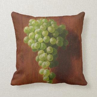 Coussin Raisins verts