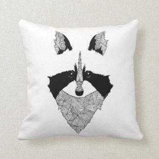 Coussin raton laveur raccoon