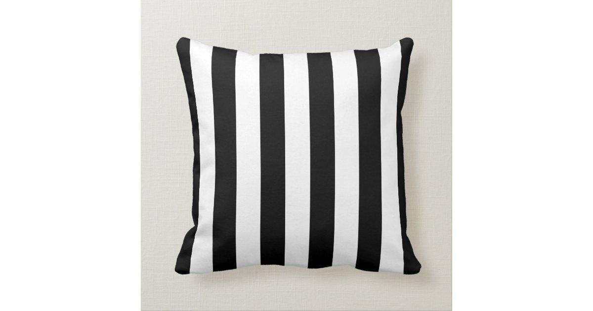 coussin ray noir et blanc. Black Bedroom Furniture Sets. Home Design Ideas