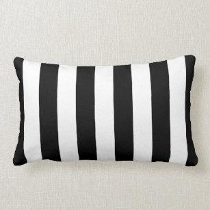 coussins ray noir et blanc. Black Bedroom Furniture Sets. Home Design Ideas