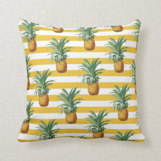 coussins ananas tropical personnalis s. Black Bedroom Furniture Sets. Home Design Ideas