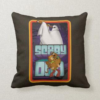Coussin Recherche de fantôme de Scooby-Doo | hirsute et