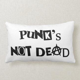 Coussin Rectangle anarchie célèbre de message de la musique punk non