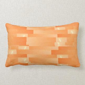 Coussin Rectangle Bandes d'or en soie de satin - ombre Art101