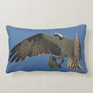 Coussin Rectangle Carreau d'animal de faune de poissons d'oiseau de