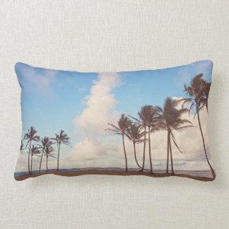 Coussin Rectangle Carreau de Lumbar de palmier d'île de Kauai