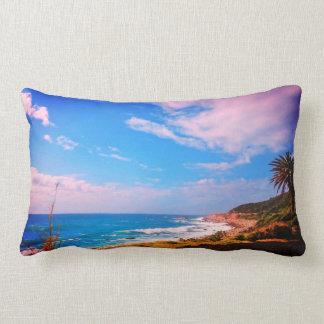 Coussin Rectangle Carreau de paysage de Palm Beach d'océan de Cape