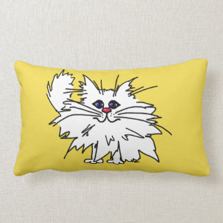 Coussin Rectangle Carreau plein d'esprit de polyester de Kitty