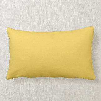 Coussin Rectangle Couleur jaune de primevère