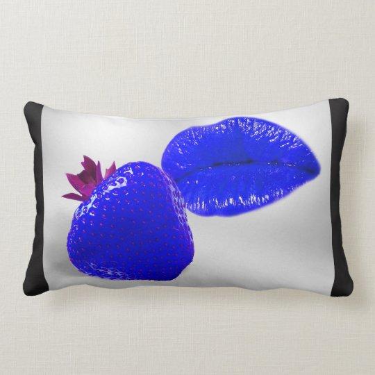 Coussin Rectangle Fruit Kiss fraise bleue & pomme verte