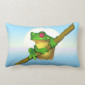 Coussin Rectangle Grenouille