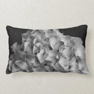 Coussin Rectangle Hortensia noir et blanc de carreau