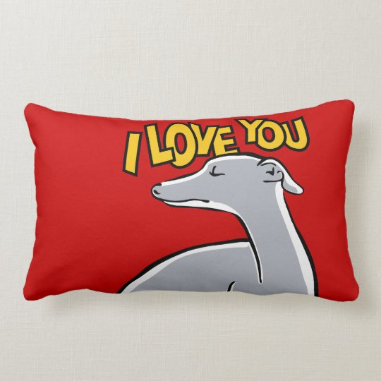 Coussin Rectangle I love you !
