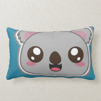 Coussin Rectangle Kawaii, amusement et throwpillow drôle de koala
