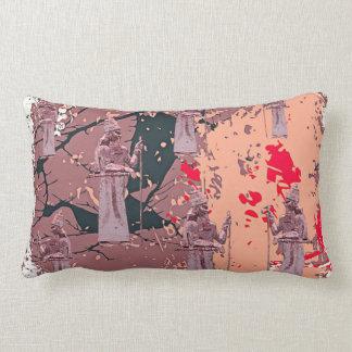 """Coussin Rectangle Le Roi assyrien Throw Lumbar Pillow 13"""" rose X.21"""