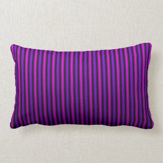 COUSSIN RECTANGLE LE SATIN NERVURÉ PAR PINK/PURPLE SE FANENT CARREAU