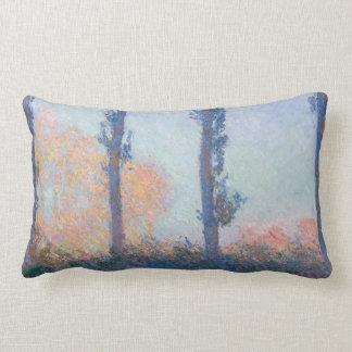 Coussin Rectangle Les quatre arbres par Claude Monet