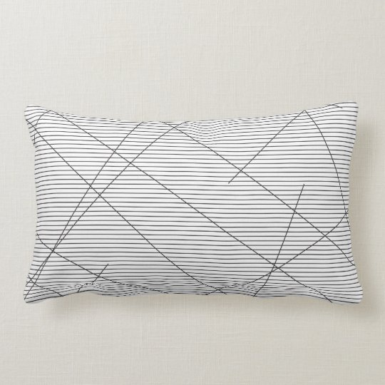 Coussin Rectangle Lignes lines rayures stripes