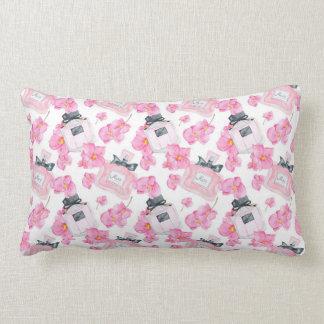 Coussin Rectangle Mode rose Parfume de fleurs