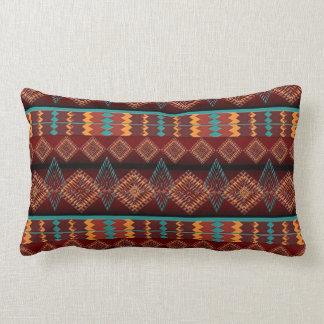 Coussin Rectangle motif du sud-ouest de Navajo ethnique