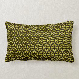 jaune et noir coussins rectangulaires jaune et noir housses de coussins. Black Bedroom Furniture Sets. Home Design Ideas