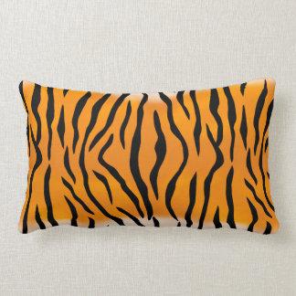 Coussin Rectangle Motif sauvage de rayures de tigre