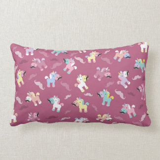 Coussin Rectangle Moustache Unicornio