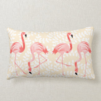 Coussin Rectangle Oiseaux de flamant