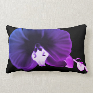 Coussin Rectangle Orchidée nocturne