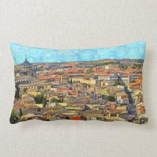 Coussin Rectangle Panorama de Toledo