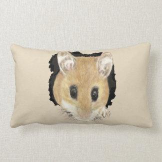 Coussin Rectangle Petit art mignon d'animal de souris de poche