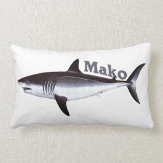 Coussin Rectangle Requin de Mako vintage