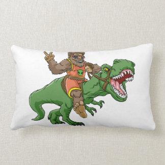 Coussin Rectangle rex Bigfoot de rex-T de la Bigfoot-bande dessinée