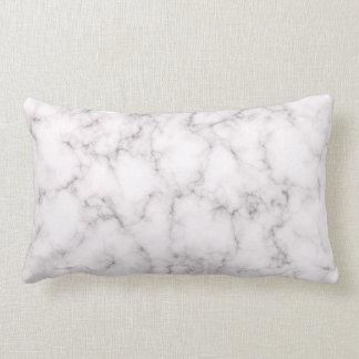 Coussin Rectangle Style de marbre élégant