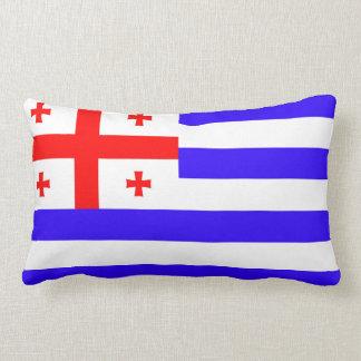 Coussin Rectangle Symbole la Géorgie de drapeau de république