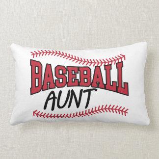 Coussin Rectangle Tante de base-ball