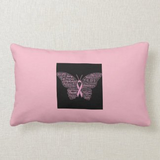 Coussin Rectangle ZazzleForBreastCancer
